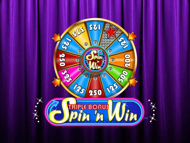 Слот машина Triple Bonus Spin 'N Win